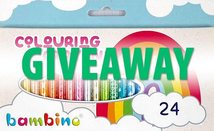 Bambino Crayons Giveaway