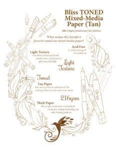 Bliss Toned Tan Paper