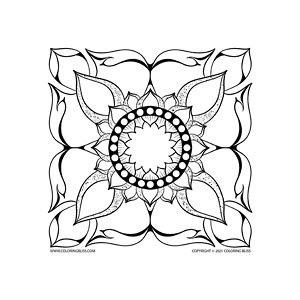 016-FW-D008 Remastered Lai Thai Floral Mandala