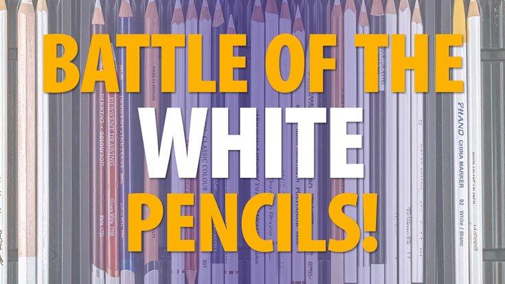 White Colored Pencil Battle